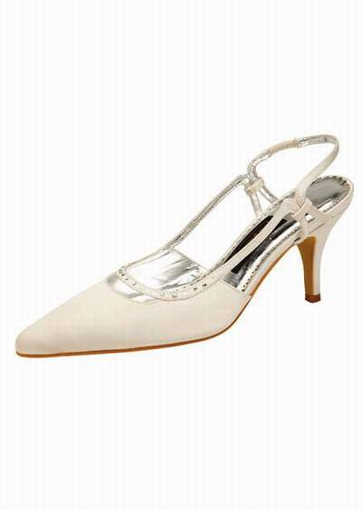 Chaussures mariage ivoire - Chaussure danse de salon femme pas cher ...